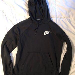Nike Sz M black hoodie sweatshirt. Like new!